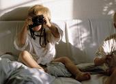 Pojke med kamera