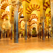 La Mezquita mosque in Cordoba, Spain