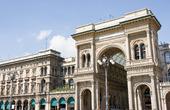 Milan köpcentrum