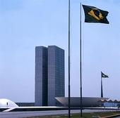 Kongressbyggnaden i Brasilia, Brasilien