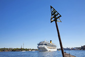 Kryssningsfartyg i Stockholm