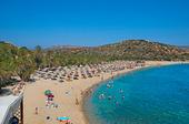 Vai Beach på Kreta, Grekland