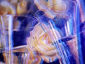 Glas med dryck