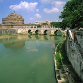 Castel Sant´Angelo i Rom, Italien