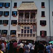 Gyllene Taket i Innsbruck, Österrike