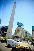 Obelisco in Buenos Aires, Argentina