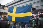 Demonstration i Stockholm mot utvisning av flyktingar från Afghanistan
