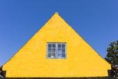 Husfasad på Bornholm