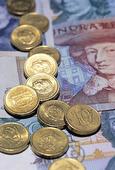 Svenska sedlar och mynt