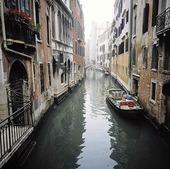 Grand Kanal i Venedig, Italien