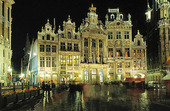 Grand Place i Bryssel, Belgien