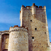 Castle of Coria, Spanien