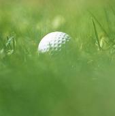 Golfboll i ruffen