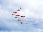Flyguppvisning, Red Arrows