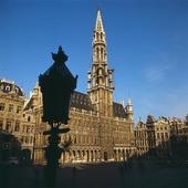 Rådhuset i Bryssel, Belgien