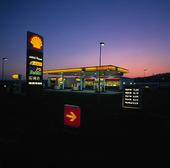 Bensinstation Shell