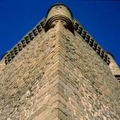 Castle of Oropesa i Toledo, Spanien