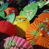 Parasoller i Thailand