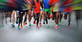 Marathon löpare