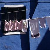 Tvätt i Venedig, Italien