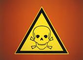 Varningsmärke för gift