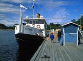 Ångbåt Thomée i Östersund, Jämtland