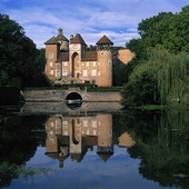 Chateau at Sercy, Frankrike