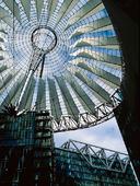 Nya Potsdamer Platz i Berlin, Tyskland