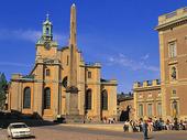 Storkyrkan och Stockholms slott