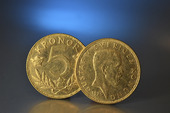 5-kronors guldmynt  1920