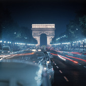 Champs Elysees i Paris, Frankrike