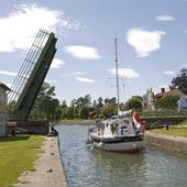 Göta kanal i Borensberg, Östergötland