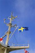 Svensk fartygsflagga