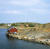 Sjöbod på Sydkoster, Bohuslän