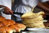 Bakers bake bread