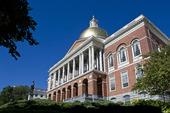 Massachusetts Statehouse i Boston, USA