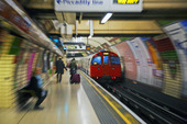 Subway in London, United Kingdom