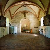 Interiör Kumlaby kyrka, Småland