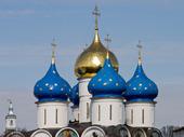 Den Trinity Monastery of St SergiusLavra (Moskva). Ryssland
