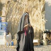 Beduinkvinna i Hebron, Israel