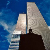 The former World Trade Center in New York, USA
