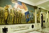 Interiör Massachusetts Statehouse i Boston, USA
