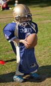 Barn som spelar Amerikansk fotboll
