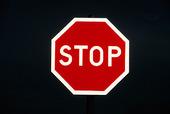 Trafikskylt, STOP