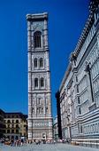 Giottos klocktorn i Florens, Italien