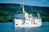 Skärgårdsbåt vid Höga kusten, Ångermanland