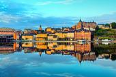 Södermalm en stilla morgon, Stockholm