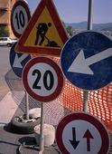 Trafikskyltar, Frankrike