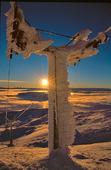 Nedisade liftstolpar i Åre, Jämtland