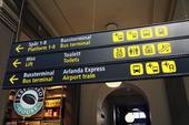 Informationsskylt på Centralstation, Stockholm